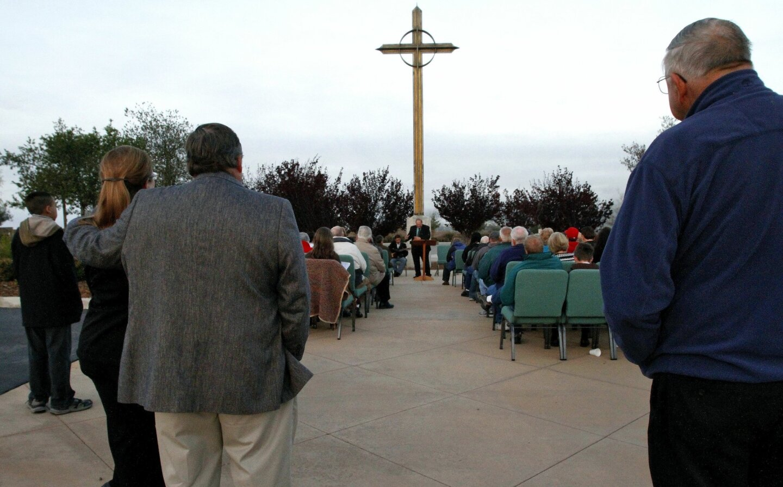 Easter Sunrise Service in Murrieta
