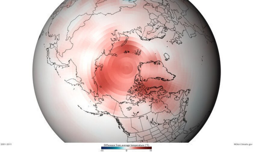 Arctic breaks records for loss of snow and ice