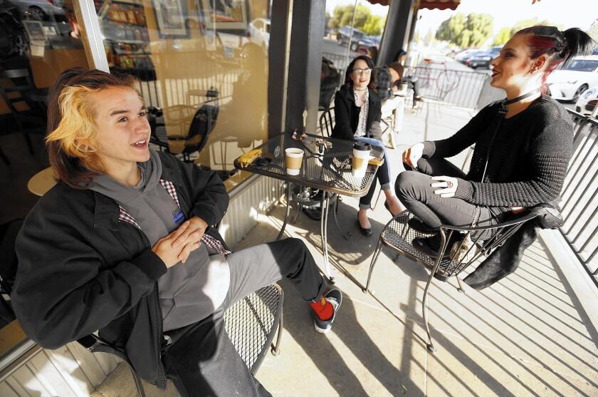 Coffee shop debate