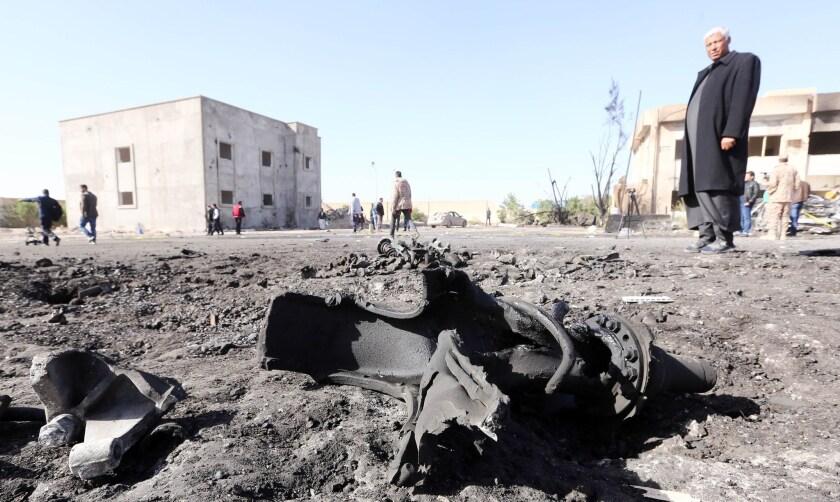 Bombing targets Libyan police