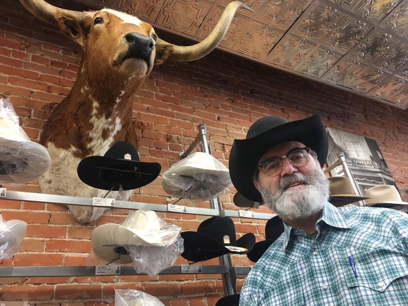 Lou Taubert, owner of Lou Taubert Ranch Outfitters in Casper, Wyo.
