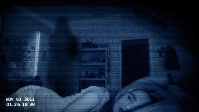 """Kathryn Newton stars in """"Paranormal Activity 4,"""" which was the No. 1 film at the box office this weekend."""