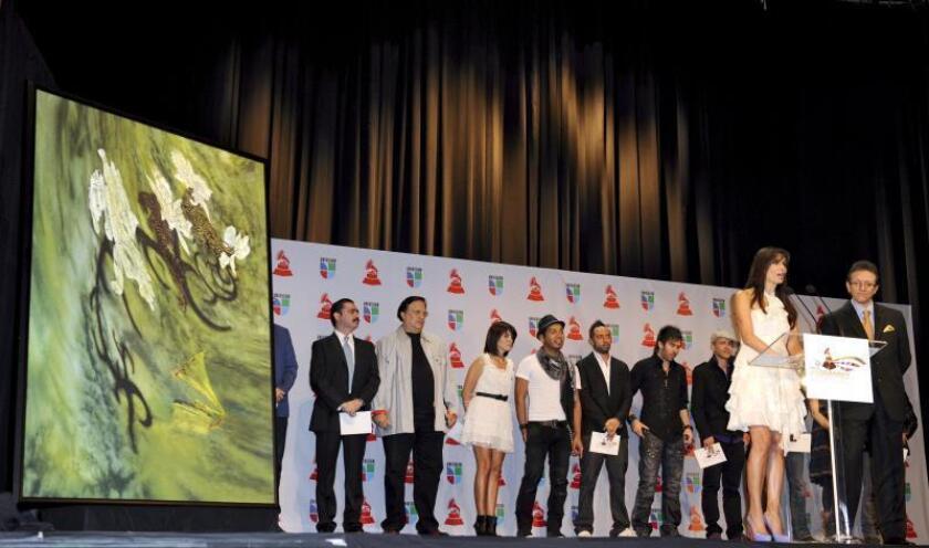 Los Latin Grammy celebrarán su veinte aniversario el 14 de noviembre