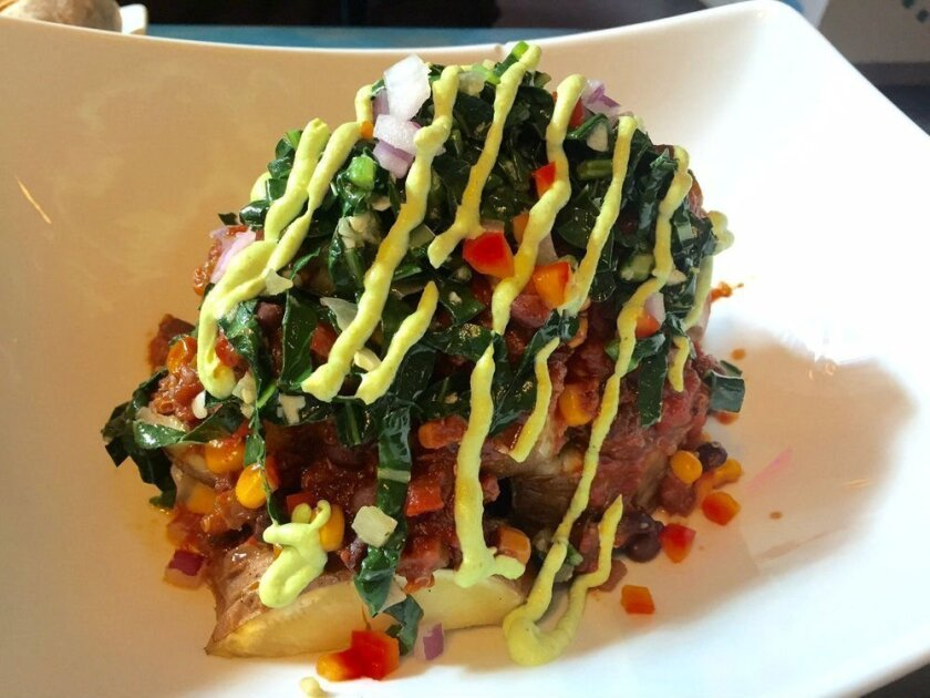 Loaded Sweet Potato from Sol Cal Cafe