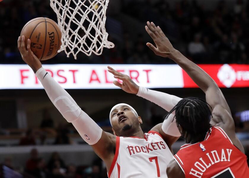 TRAIL BLAZERS ANTHONY NBA