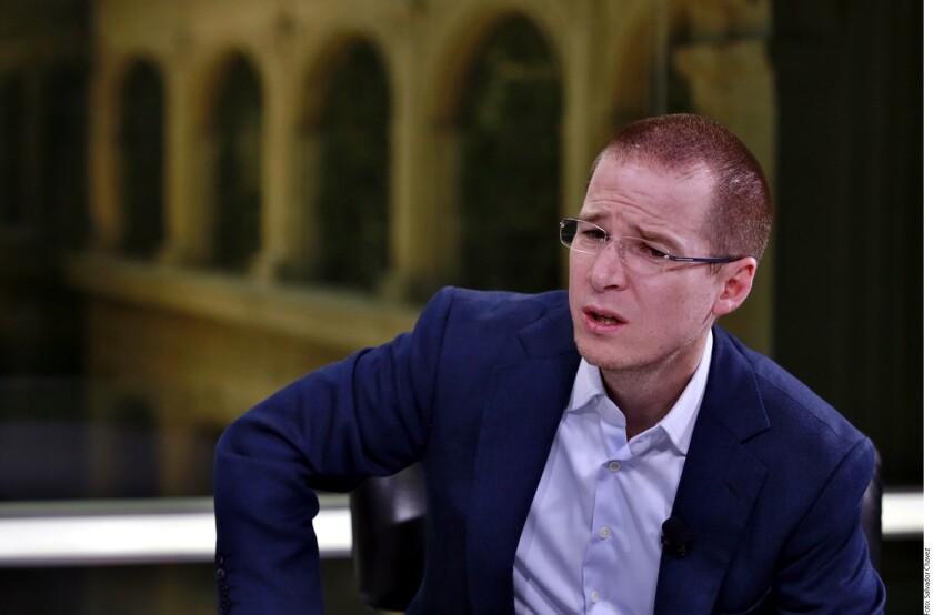 Ricardo Anaya se instala en la eventualidad de perder la elección del 1 de julio, de tener que escoger entre José Antonio Meade y Andrés Manuel López Obrador.