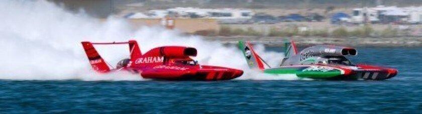 Unlimited Hydroplanes at San Diego Bayfair