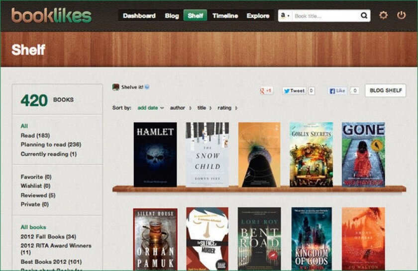 Can Booklikes be the next Goodreads? - Los Angeles Times