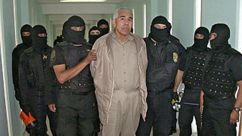 Foto de archivo del narcotraficante Caro Quintero.