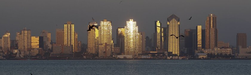 U-T File: San Diego skyline.