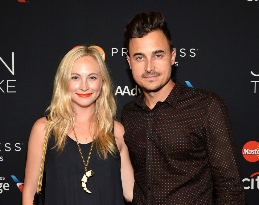 "Candice Accola of ""The Vampire Diaries"" has married Joe King of the Fray."