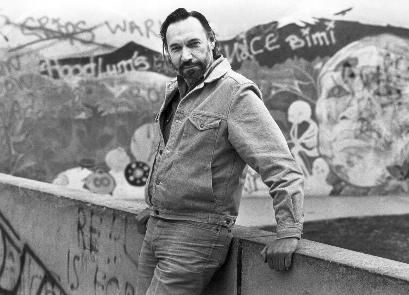 """Playwright Charles Marowitz in 1984. """"He was a major force in theater, period, not just in L.A.,"""" said Alan Mandell."""