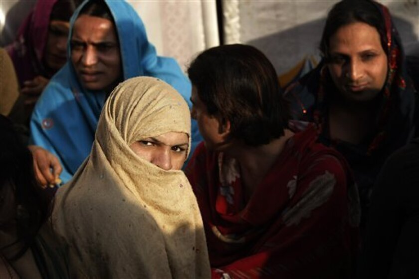 Pakistan's 'third gender' seek greater rights - The San Diego Union