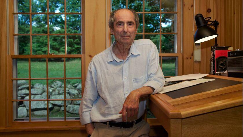Author Philip Roth in 2010.
