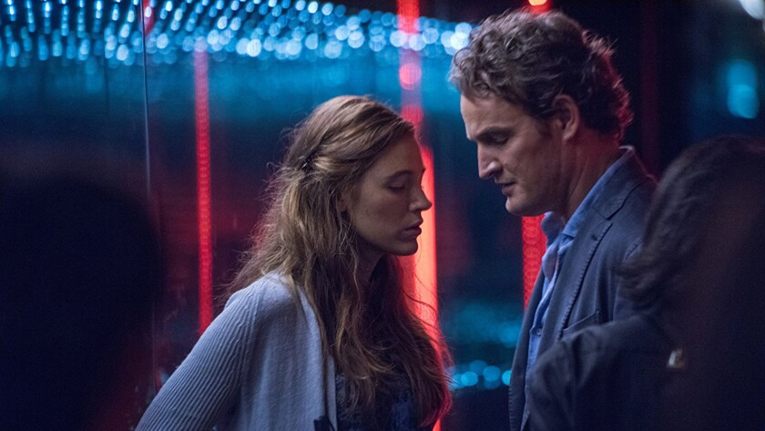"Blake Lively and Jason Clarke in the movie ""All I See Is You."""