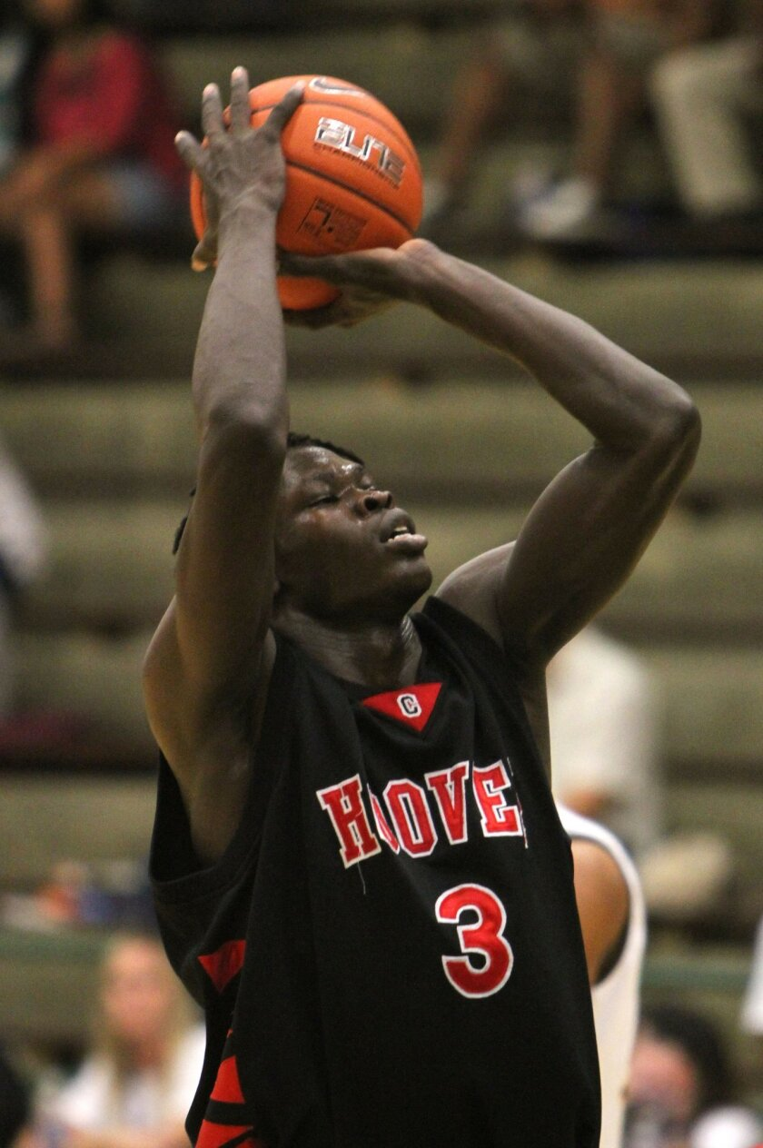 Hoover senior Angelo Chol has accepted a scholarship to the University of Arizona.