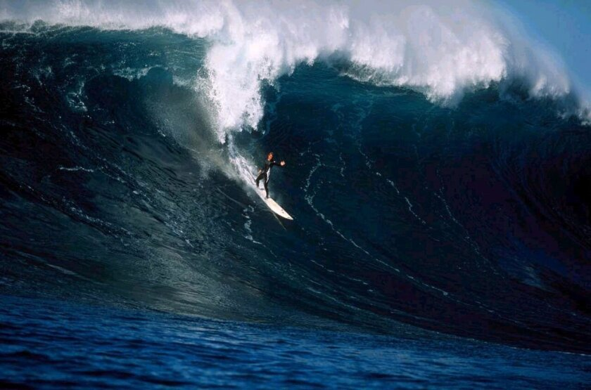 A scene from 'Ocean Driven,' an inspirational thriller based on the true story of South African big-wave surfer and ocean pioneer, Chris Bertish. The film screens 7:30 p.m. Thursday, May 21 during the opening night of the fourth San Diego Surf Film Festival.