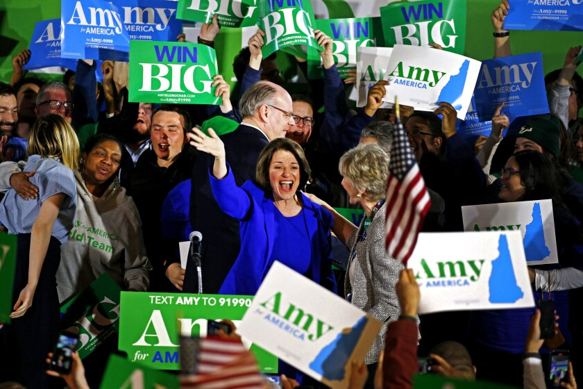 Amy Klobuchar in New Hampshire