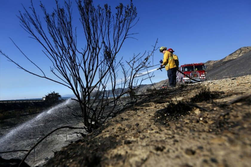 The Solimar fire is 70% contained.