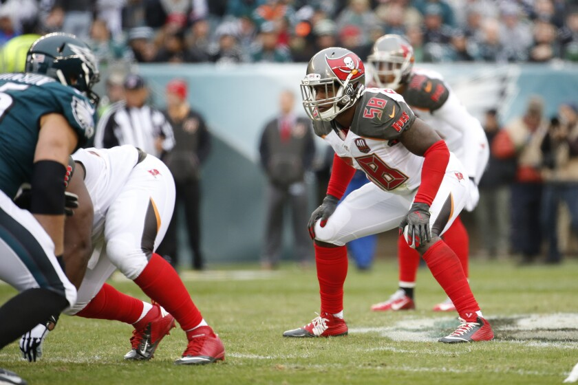 NFC notes: Buccaneers rookie Kwon Alexander expected to play after appealing suspension