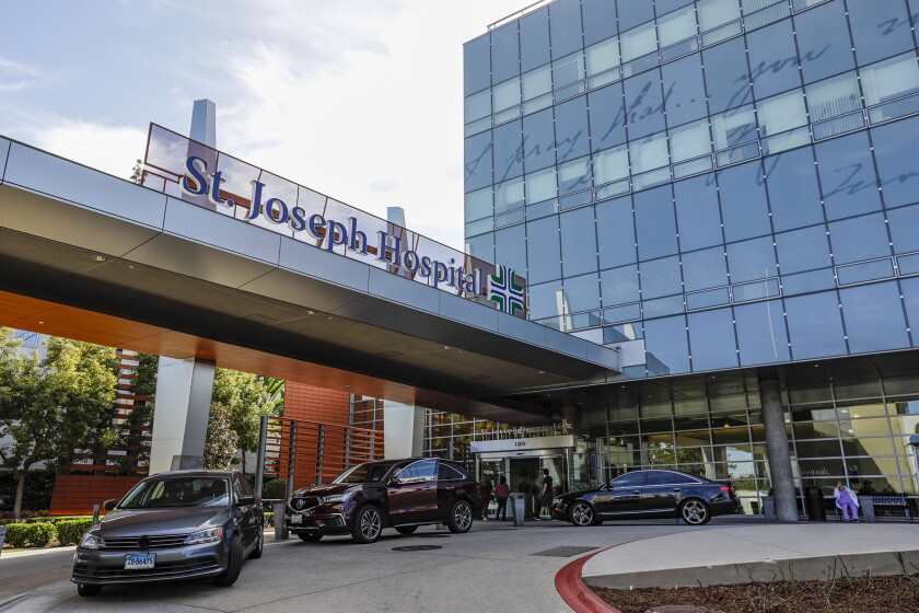 St. Joseph Hospital in Orange