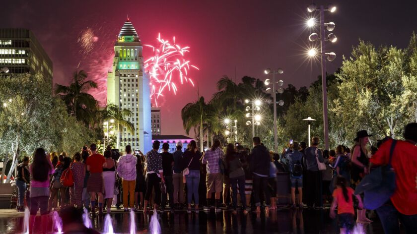 Crowds like this one might be off the table for now, but there are still ways to celebrate the Fourth of July.