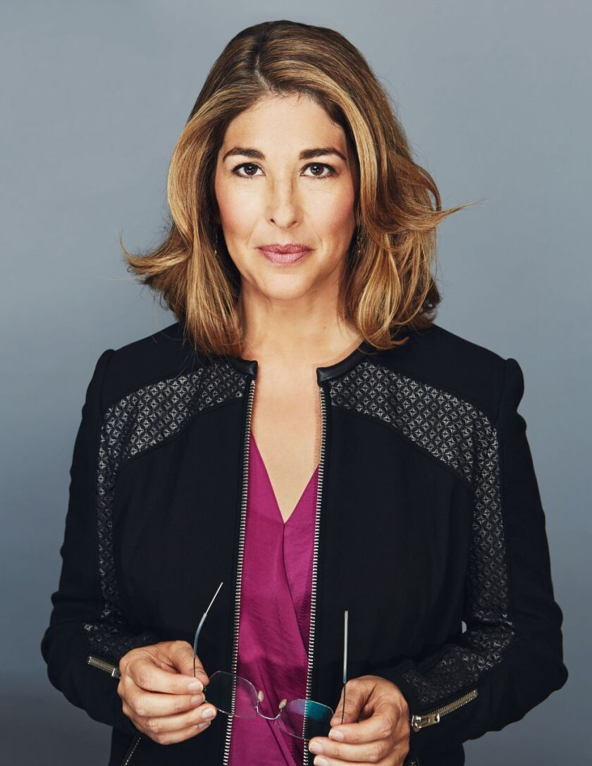 """Naomi Klein's latest book is """"On Fire."""""""