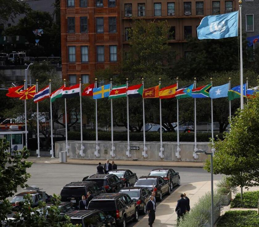 Cuba pidió hoy a los países de la ONU apoyo a su proyecto de resolución anual para demandar el fin del embargo estadounidense, que será votado el próximo 31 de octubre en la Asamblea General de la organización. EFE/ARCHIVO