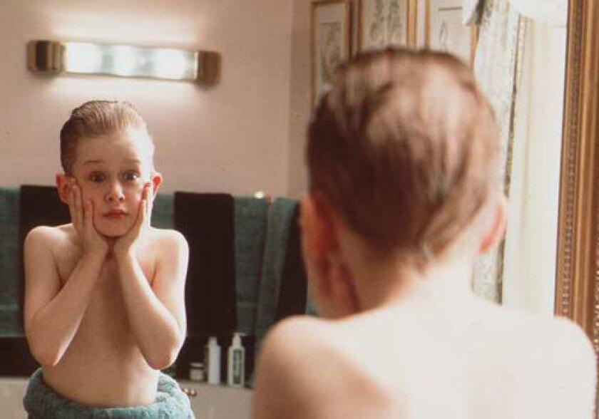 "Macaulay Culkin in ""Home Alone."""