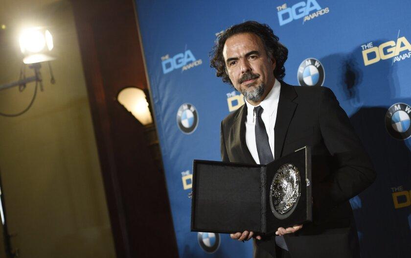 DGA Awards: Alejandro G  Iñárritu wins for 'The Revenant