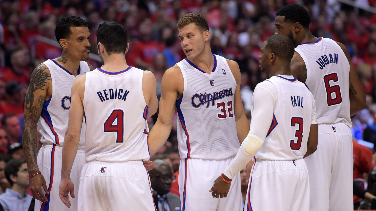 A Look At The Clippers Roster For The 2014 15 Season Los Angeles Times