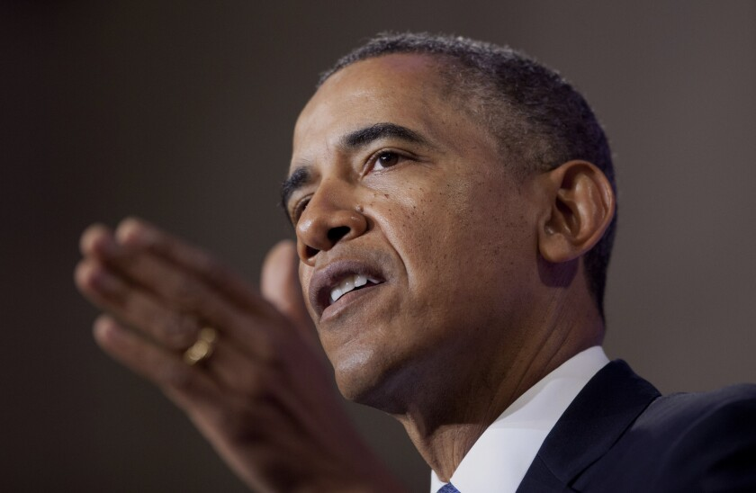 Seeking to calm a furor over U.S. surveillance, President Obama called for ending the government's control of phone data from hundreds of millions of Americans and ordered intelligence agencies to get a court's permission before accessing the records.