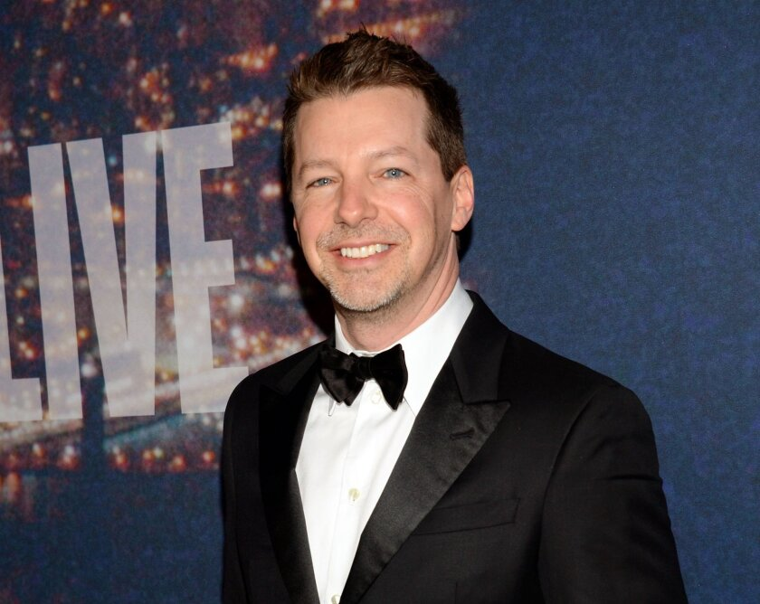 "FILE - In this Feb. 15, 2015 file photo, actor Sean Hayes attends the SNL 40th Anniversary Special in New York. Hayes will play God Almighty in the City of Angles next year. Producers of the ""An Act of God"" said Wednesday, Aug. 26, that the Emmy Award-winning former ""Will and Grace"" will step into the big role starting Jan. 30 at the Ahmanson Theatre. (Photo by Evan Agostini/Invision/AP, File)"