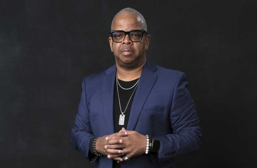 "FILE - Terence Blanchard poses for a portrait at the 91st Academy Awards Nominees Luncheon on Feb. 4, 2019, in Beverly Hills, Calif. The Metropolitan Opera will skip an entire season for the first time in its nearly 140-year history due to the novel coronavirus and intends to start the 2021-22 season with Terence Blanchard's ""Fire Shut Up in My Bones"" in the first work of a Black composer presented by the company. (Photo by Chris Pizzello/Invision/AP, File)"