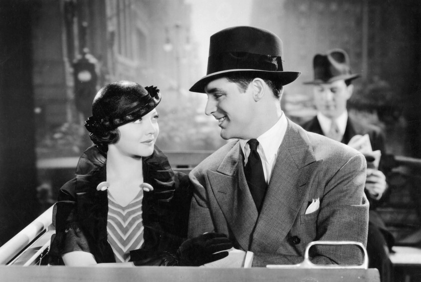 """Sylvia Sidney and Cary Grant star in the movie """"Thirty Day Princess"""" (1934), which is directed by Marion Gering and is among the films to be screened."""