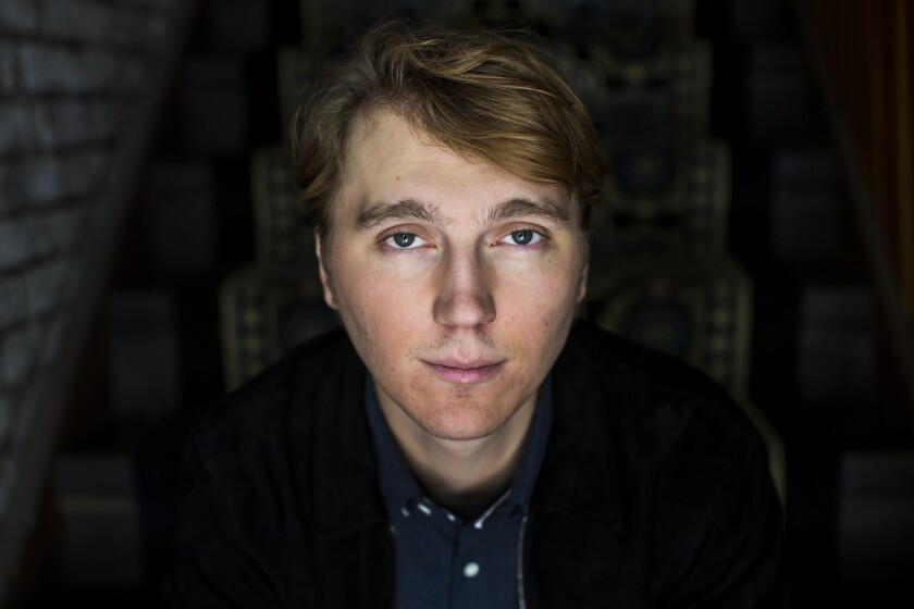 """Actor Paul Dano portrays a young Brian Wilson in the Beach Boys biopic """"Love and Mercy."""""""