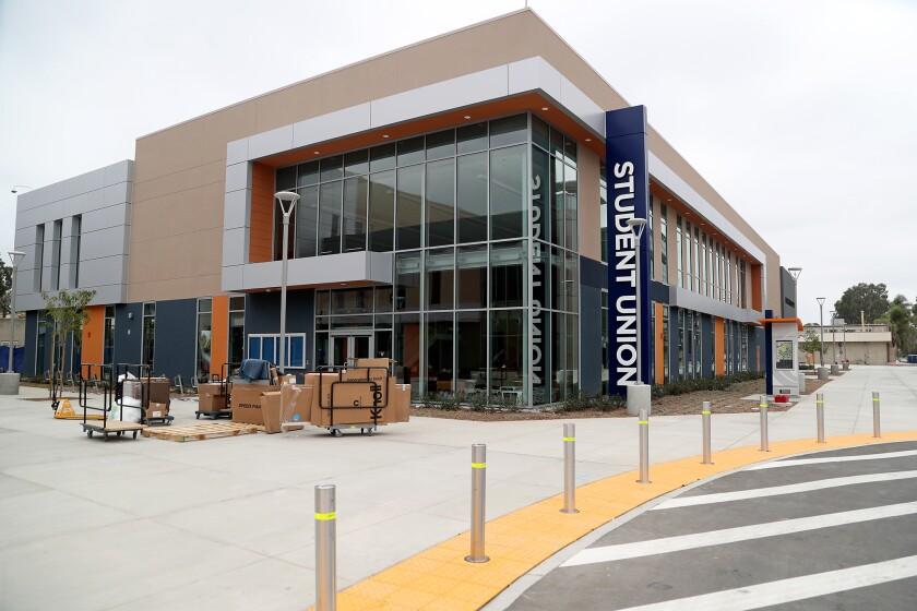 The new Student Union building at Orange Coast College in Costa Mesa