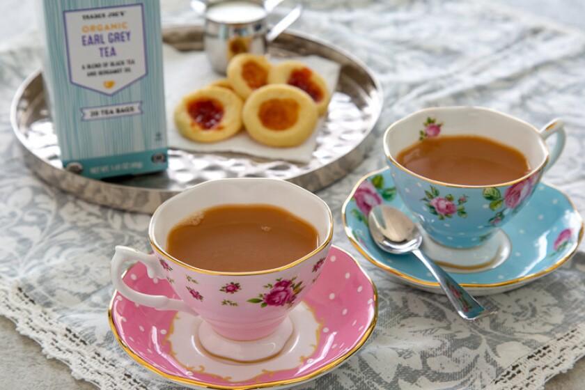 Trader Joe's Organic Earl Grey Tea.