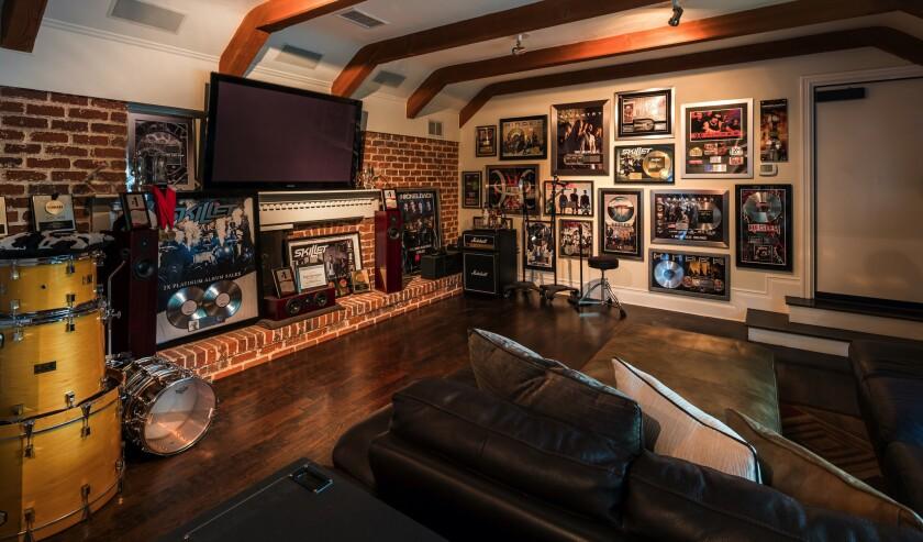 Brian Howes' Studio City estate