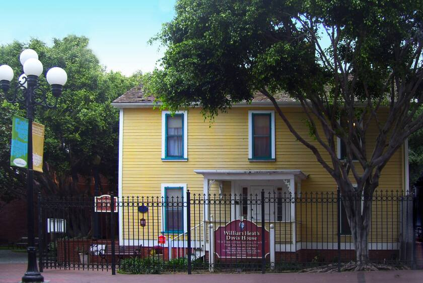 This home, built in 1850, houses the Gaslamp Quarter Historical Foundation and is in danger of closing permanently.
