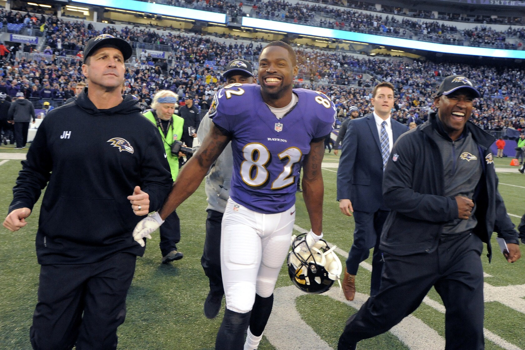 100% authentic c587c f9314 Ravens 10-pack on Torrey Smith's big second half, the stingy ...
