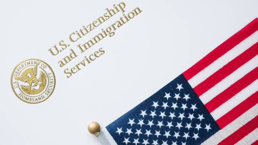An image of the U.S. Citizenship and Immigration Services logo.