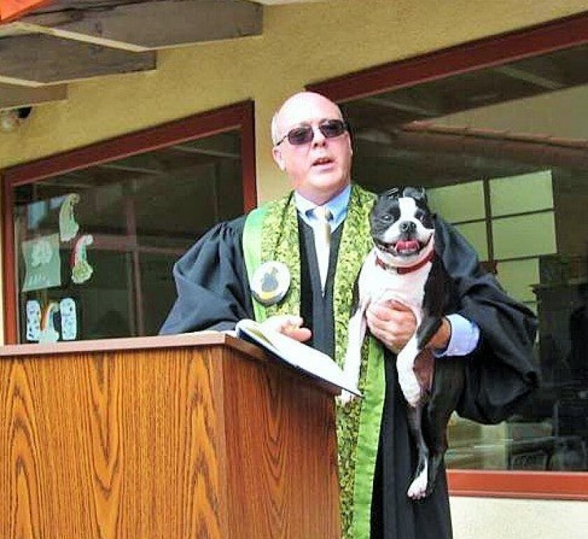 Congregational Church of La Jolla's Blessing of the Animals