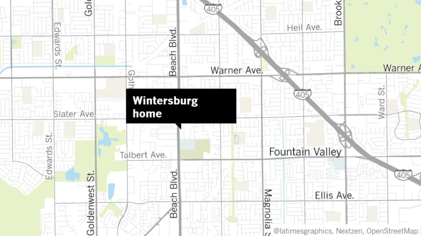 Property at 17631 Cameron Lane that the Huntington Beach City Council gave staff the go-ahead to buy includes a historic Wintersburg home. The city says the site could be used to help meet the city's affordable-housing needs.