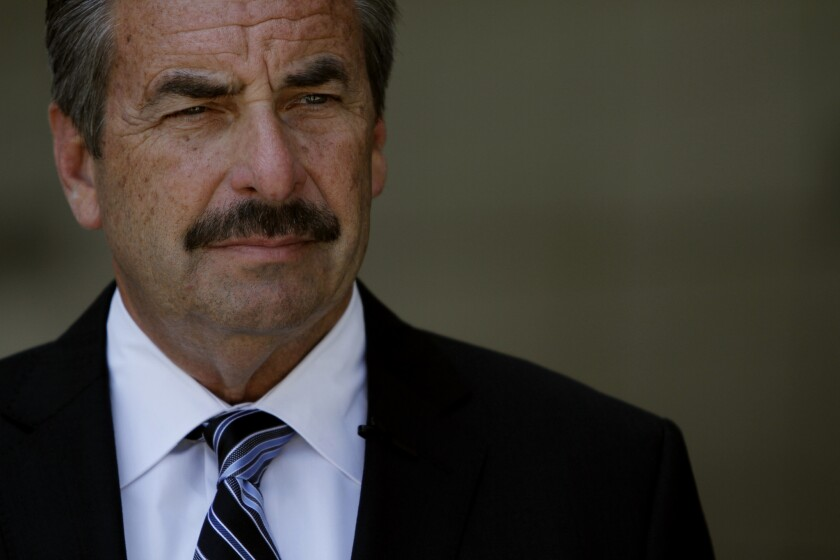 L.A. Police Chief Beck won't comment on death