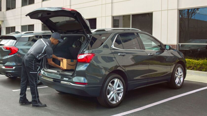 Amazon's in-car delivery is an opt-in feature that only works with 2015 or newer Volvo, Chevrolet, Buick, GMC and Cadillac vehicles.