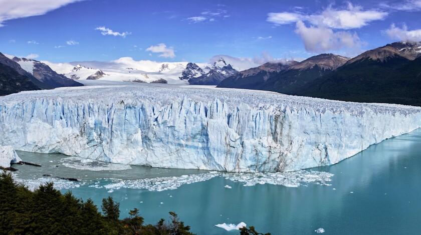 Famed Perito Moreno Glacier in Patagonia