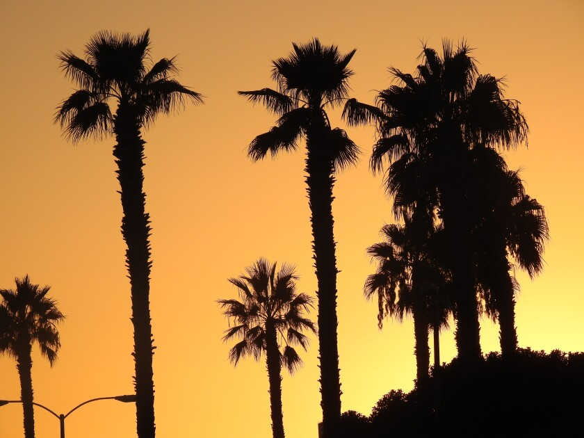 Friday's high in San Diego will hit 83