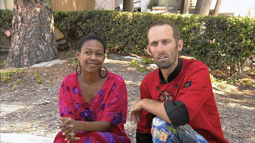 Actress Daniele Watts and celebrity chef Brian James Lucas recount their encounter Sunday with LAPD officers in Studio City on KABC-TV. Police received a call about two people having sex in a car parked on Radford Avenue.