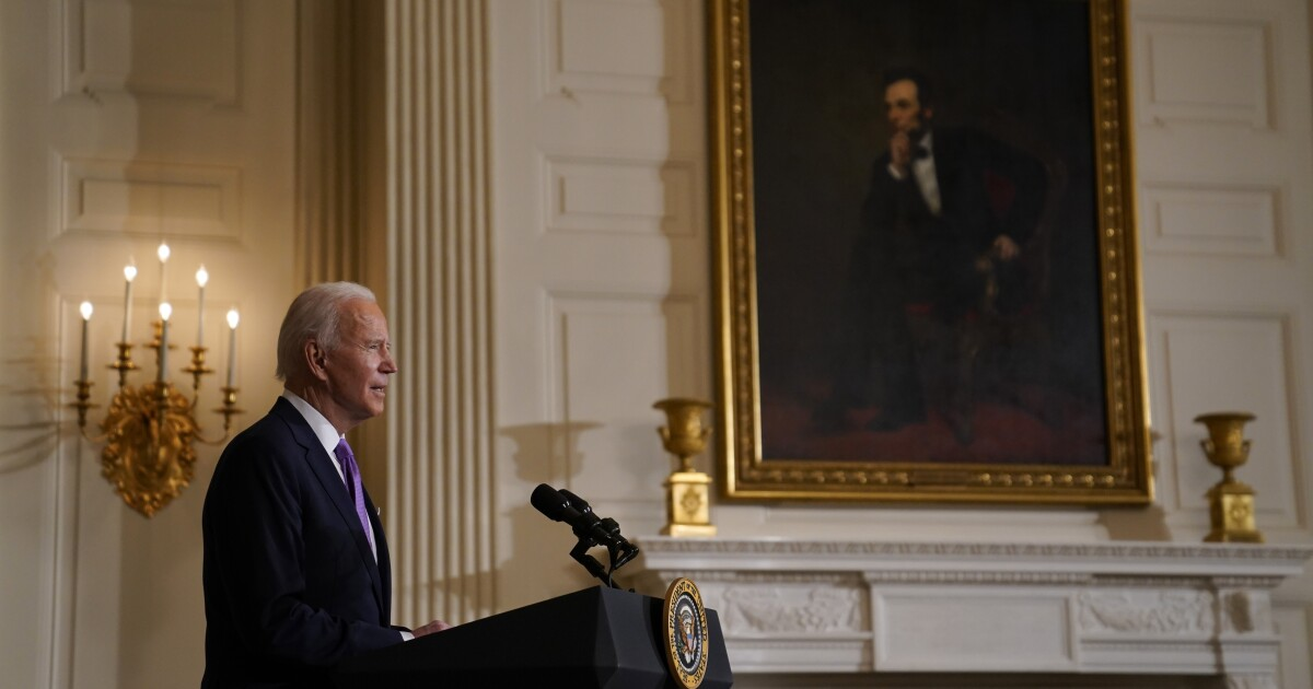 www.latimes.com: Biden promotes racial equity for Asian Americans in wake of Trump's anti-China talk